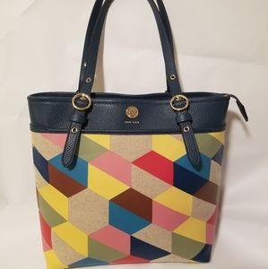 Anne Klein Bag Purse multi colored